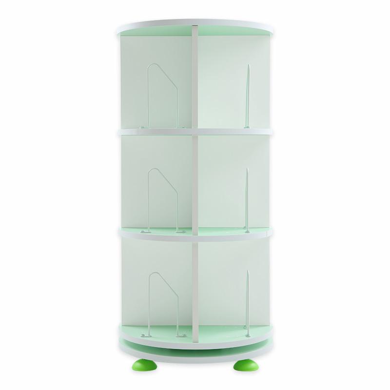 綠圓白方色